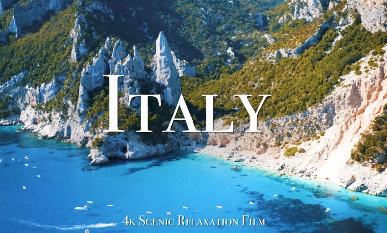 Photo of Italy 4K – Scenic Relaxation Film With Calming Music