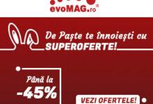Photo of evoMAG: Campanie speciala de Paste cu reduceri de pana la 40%